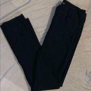 Exact Stretch boot cut black dress pants
